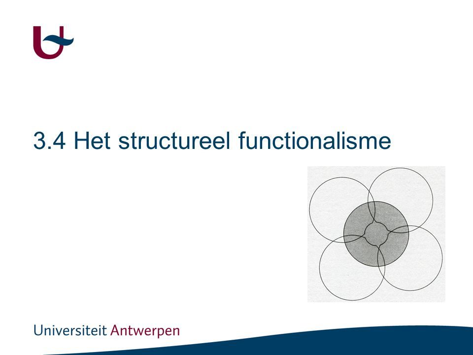 Het structureel-functionalisme binnen onze typologie van paradigma's