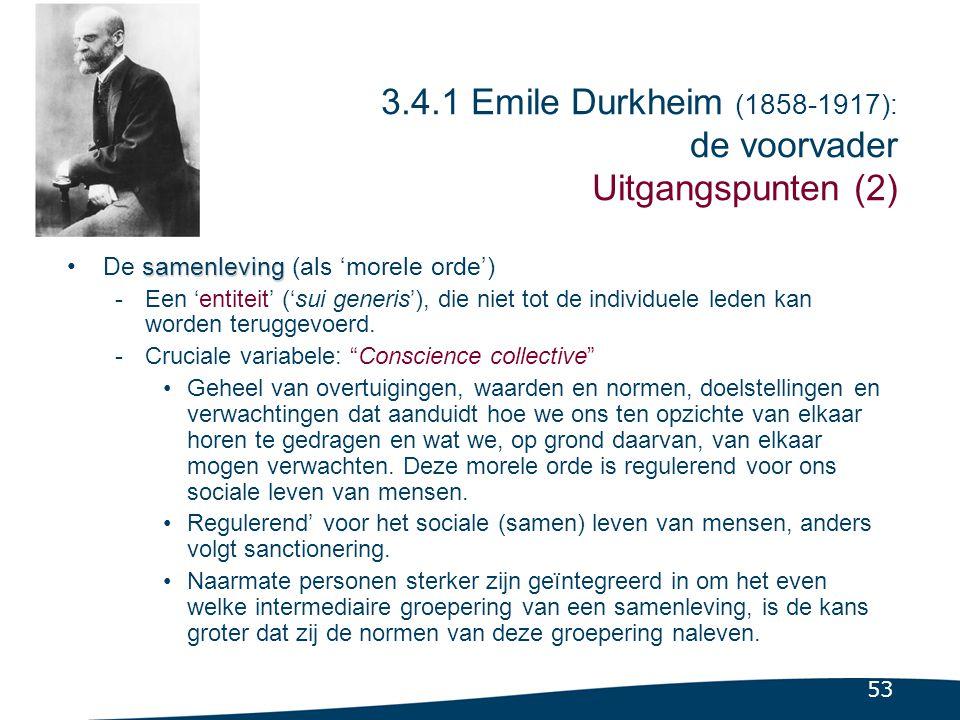 Vraagstuk bij Durkheim