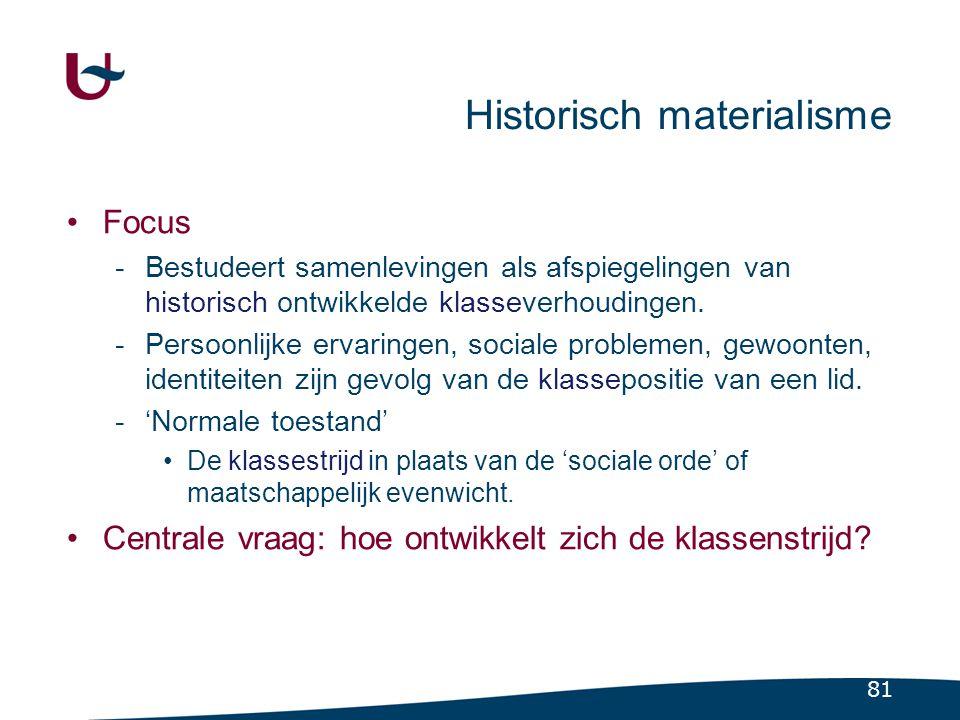 Karl Marx (1818-1883) Stellingen Arbeid is de eerste historische daad