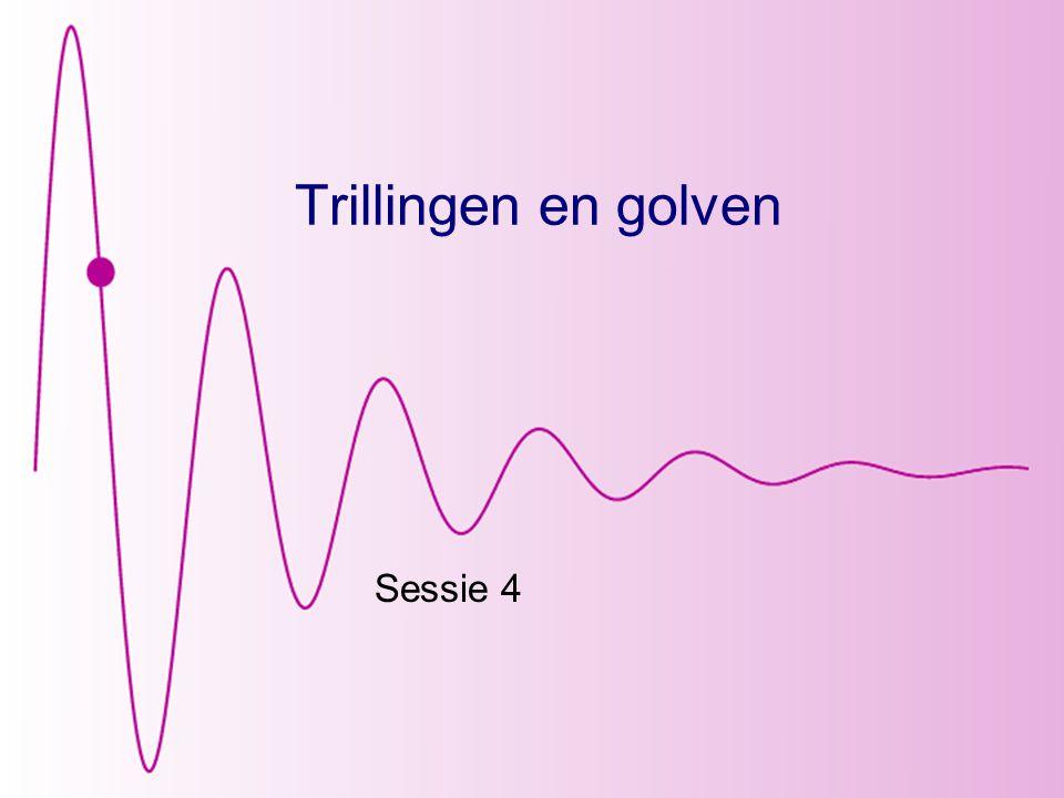 Trillingen en golven Sessie 4