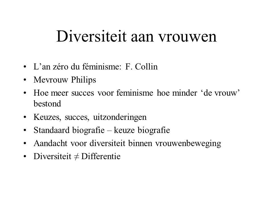 Diversiteit aan vrouwen