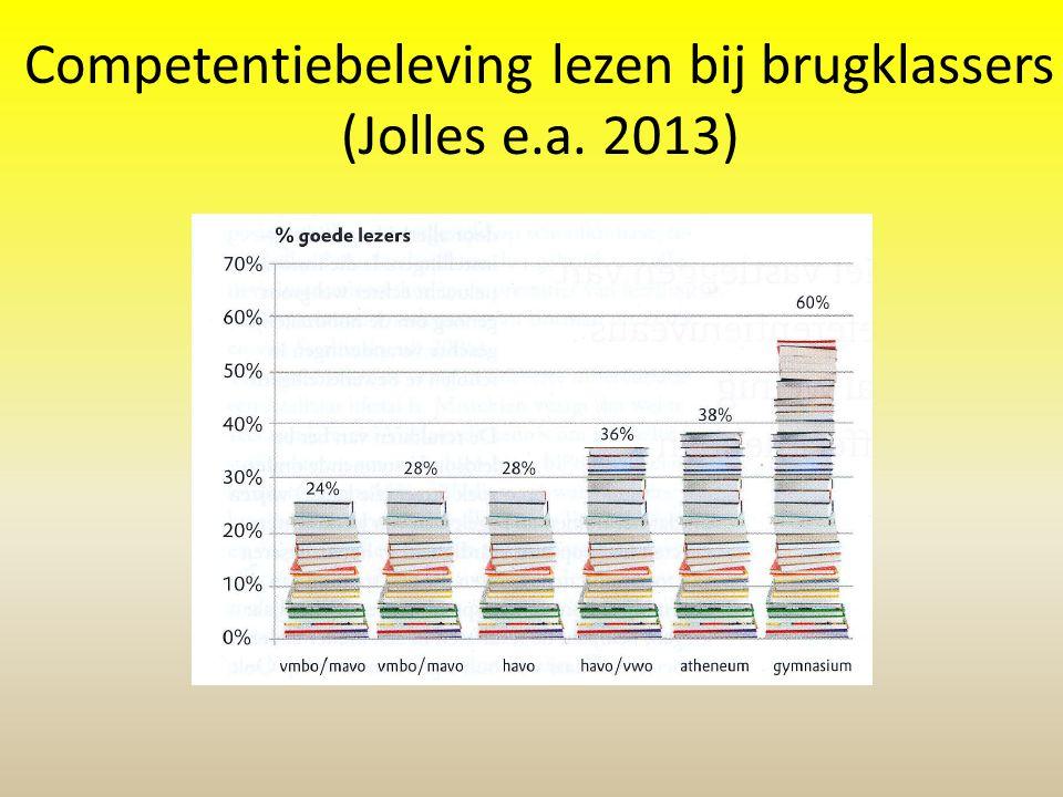 Competentiebeleving lezen bij brugklassers (Jolles e.a. 2013)