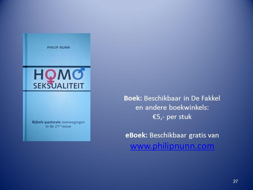 www.philipnunn.com Boek: Beschikbaar in De Fakkel