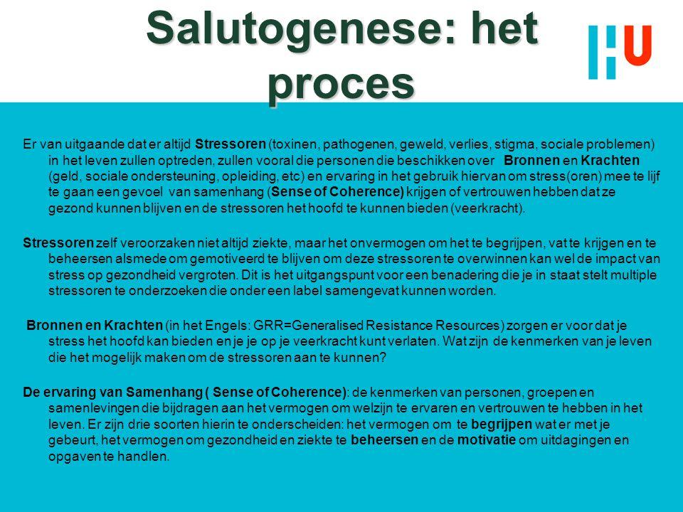 Salutogenese: het proces