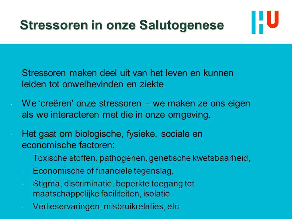 Stressoren in onze Salutogenese