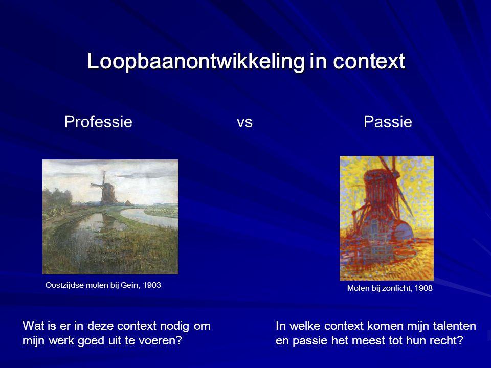 Loopbaanontwikkeling in context
