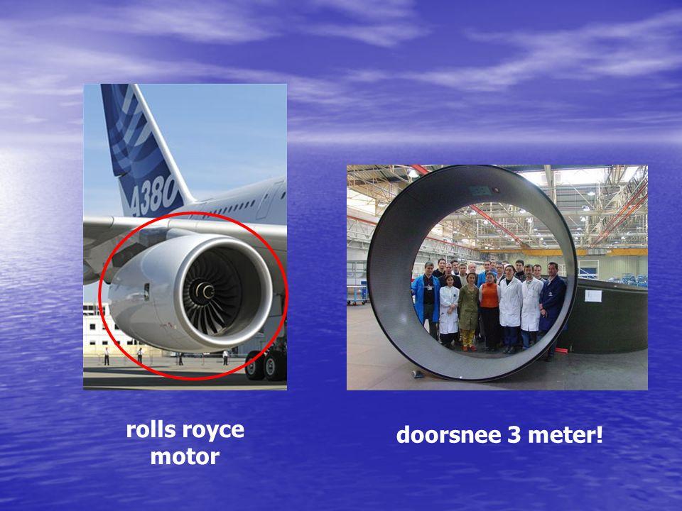 rolls royce motor doorsnee 3 meter! Motoren Doorsnede 3 meter