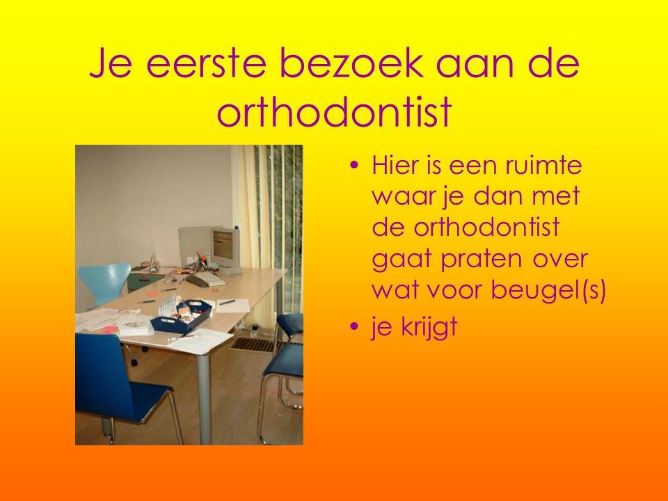 Je eerste bezoek aan de orthodontist