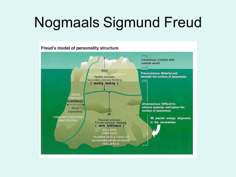 Nogmaals Sigmund Freud