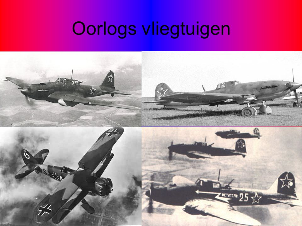 Oorlogs vliegtuigen