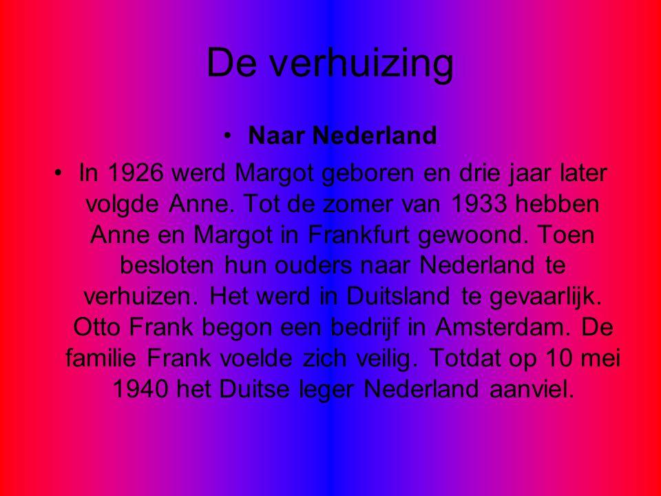 De verhuizing Naar Nederland