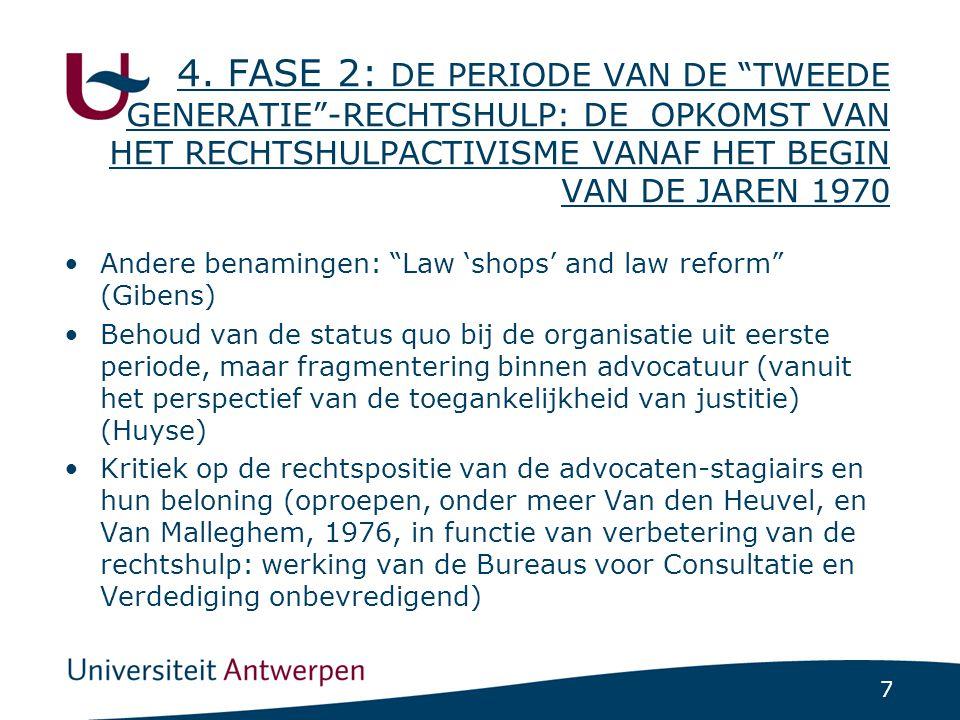 Eerste hervorming sinds 1830: de wet van 9 april 1980