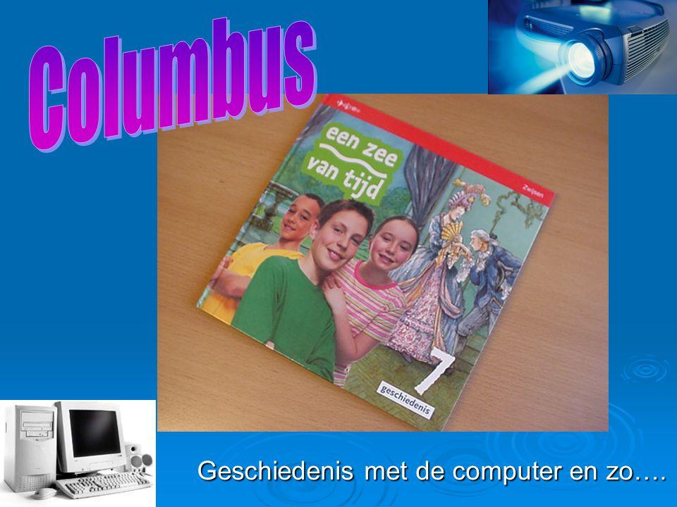 Geschiedenis met de computer en zo….