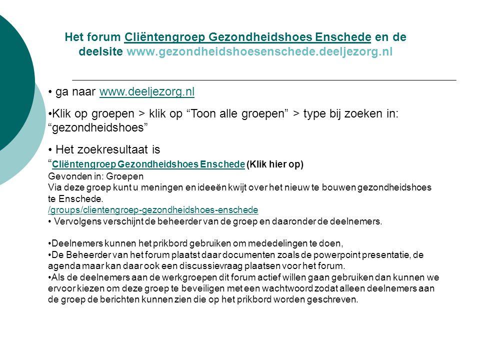 ga naar www.deeljezorg.nl