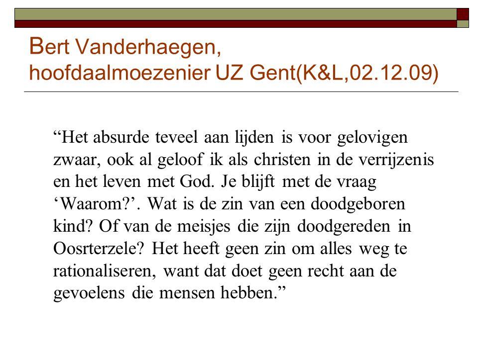 Bert Vanderhaegen, hoofdaalmoezenier UZ Gent(K&L,02.12.09)