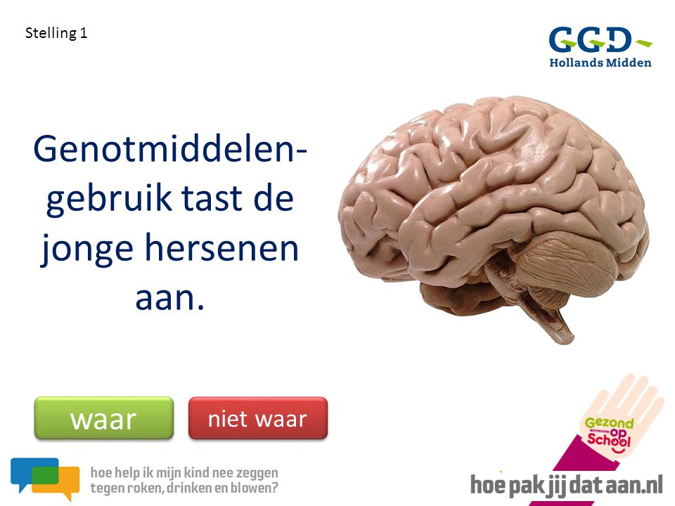 Genotmiddelen- gebruik tast de jonge hersenen aan.