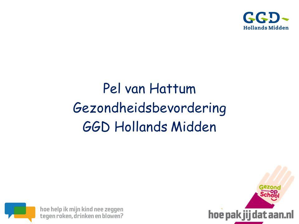 Pel van Hattum Gezondheidsbevordering GGD Hollands Midden