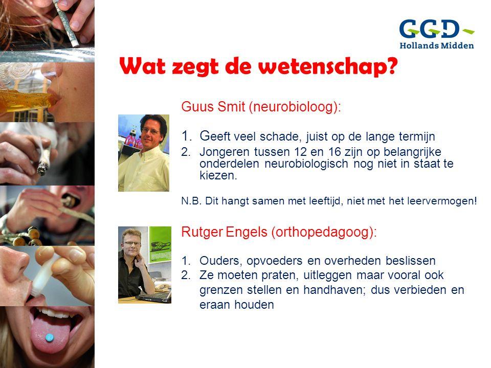Wat zegt de wetenschap Guus Smit (neurobioloog):