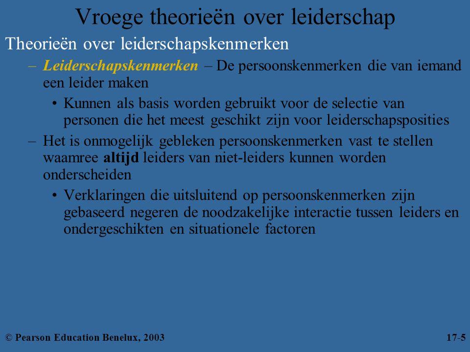 Vroege theorieën over leiderschap