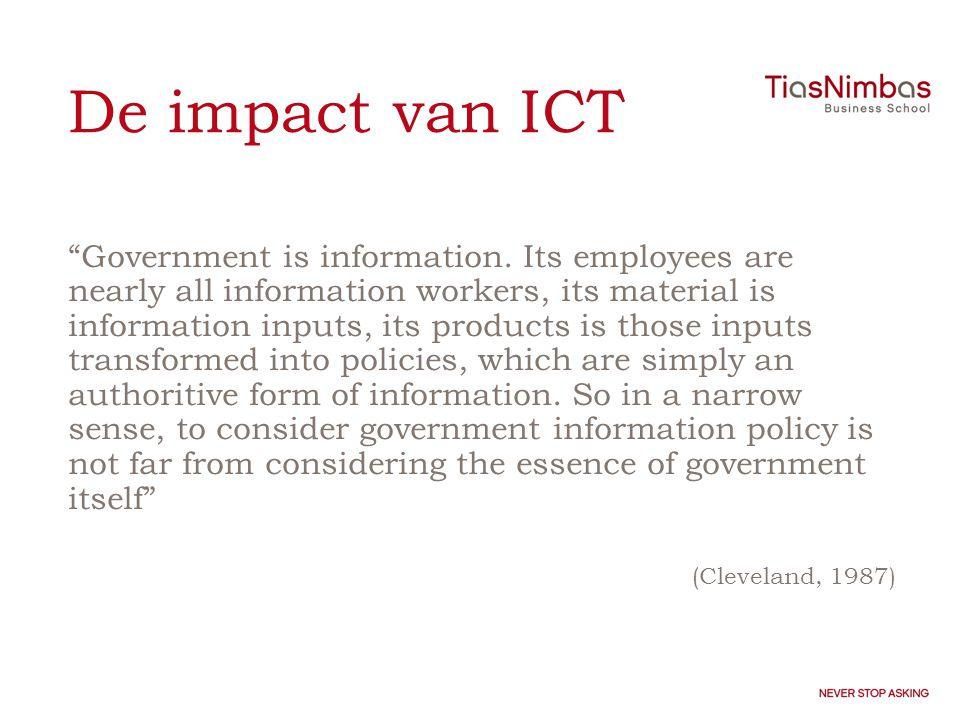 De impact van ICT