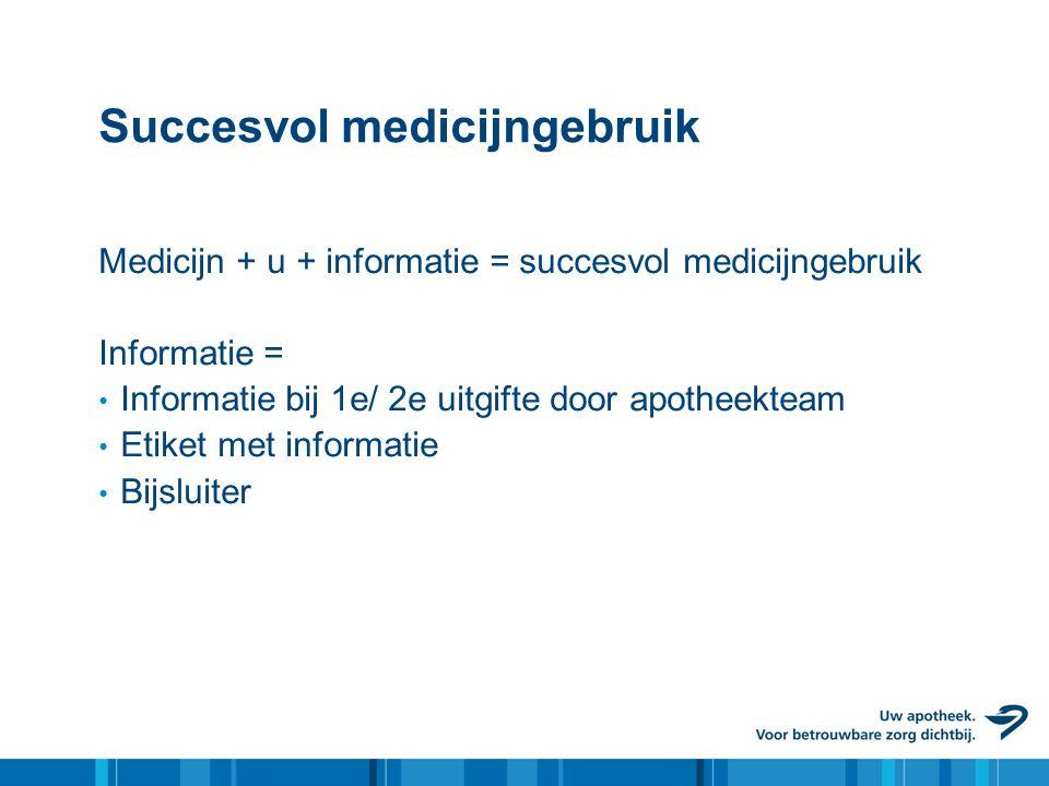 Succesvol medicijngebruik