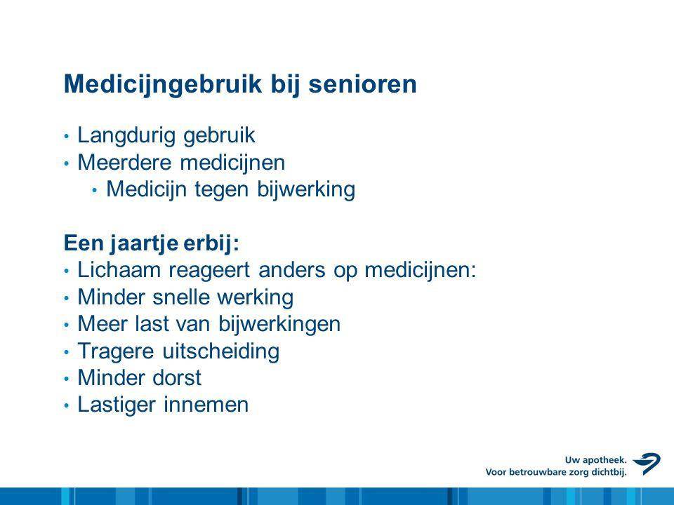 Medicijngebruik bij senioren