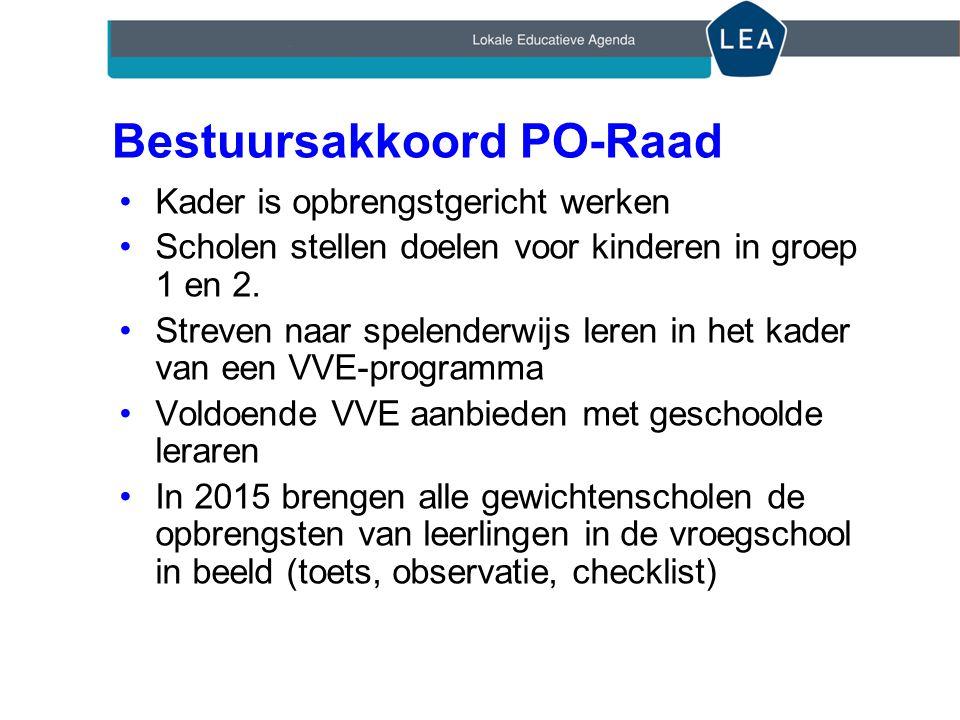 Bestuursakkoord PO-Raad