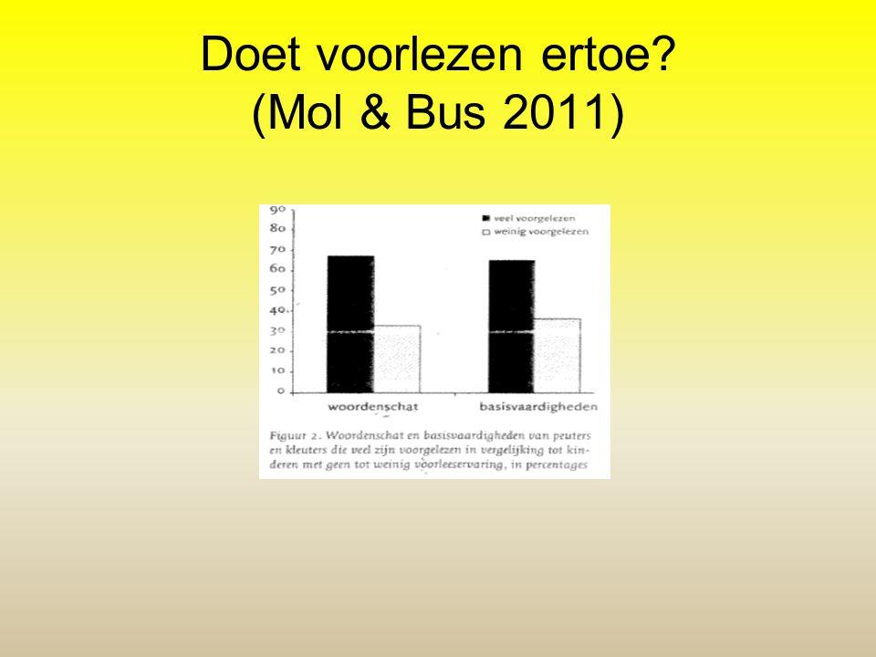 Doet voorlezen ertoe (Mol & Bus 2011)