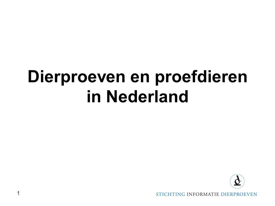 Dierproeven en proefdieren in Nederland