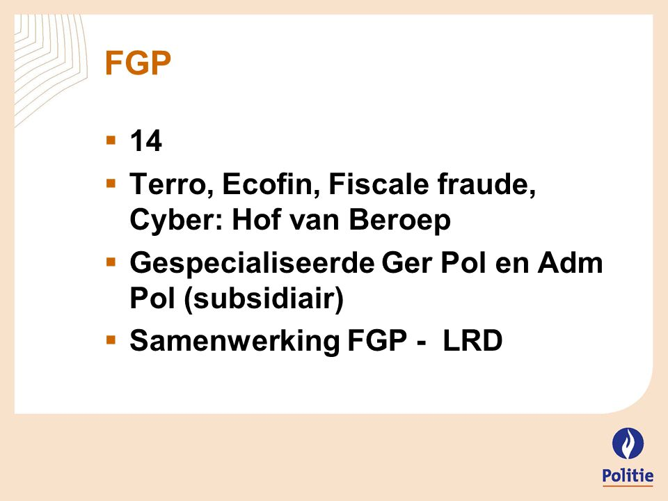 FGP 14 Terro, Ecofin, Fiscale fraude, Cyber: Hof van Beroep