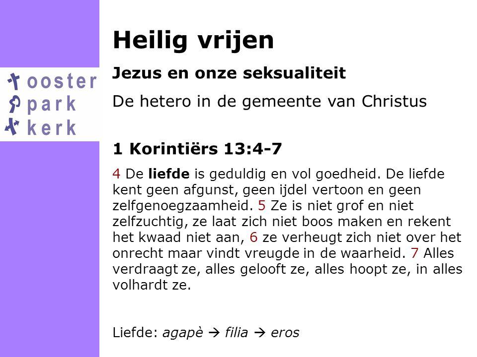 Heilig vrijen Jezus en onze seksualiteit