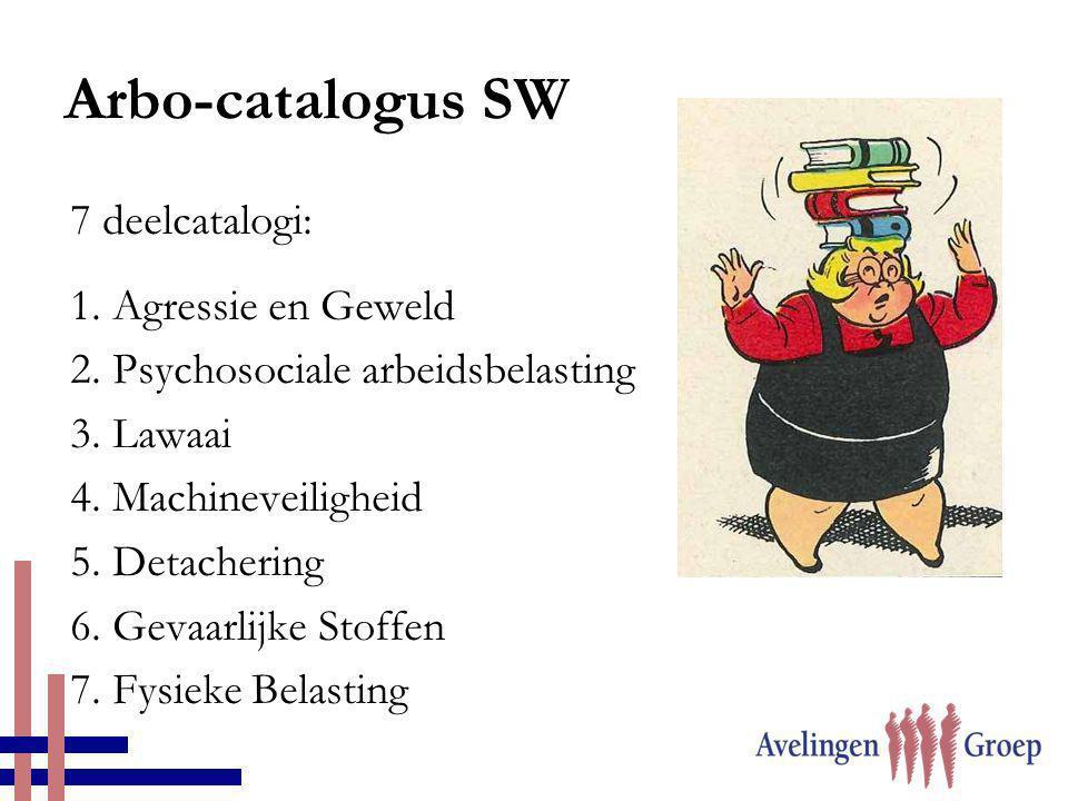 Arbo-catalogus SW 7 deelcatalogi: 1. Agressie en Geweld