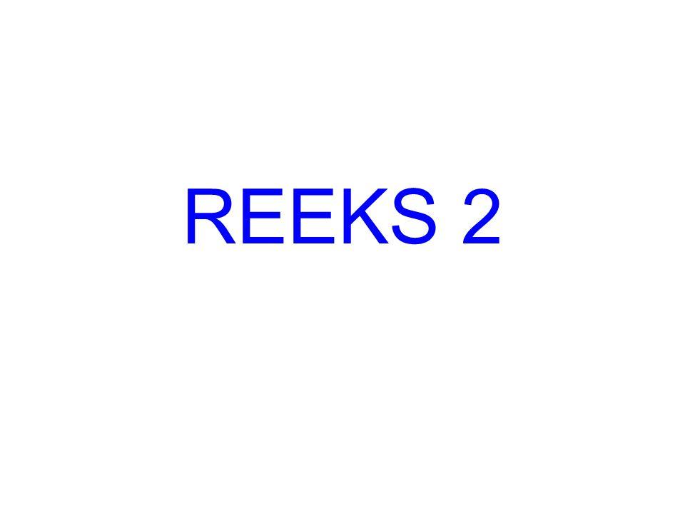 REEKS 2