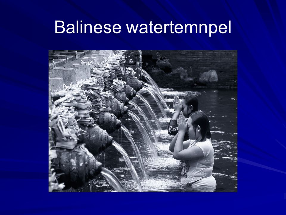 Balinese watertemnpel