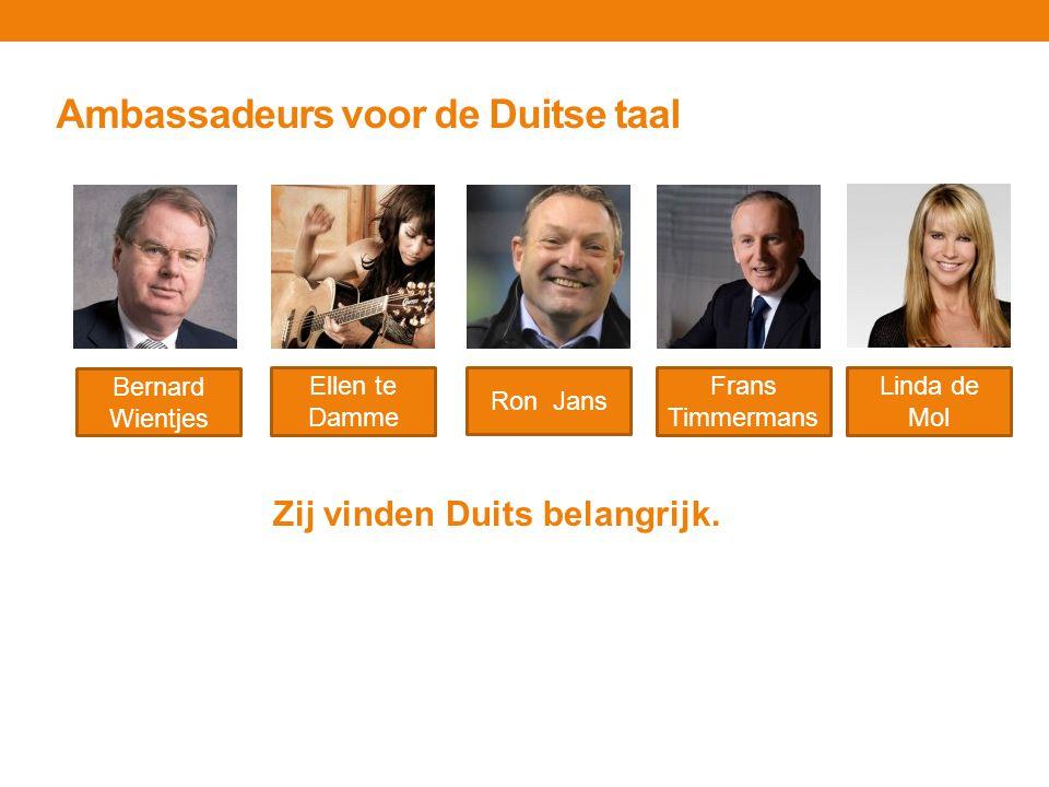 Ambassadeurs voor de Duitse taal