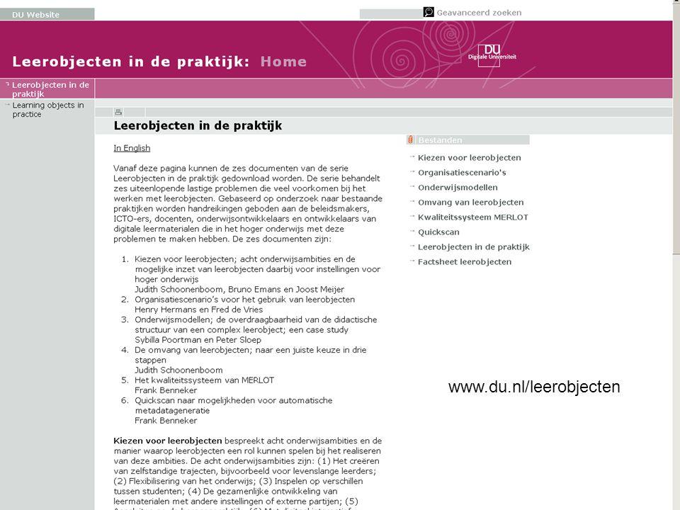 www.du.nl/leerobjecten