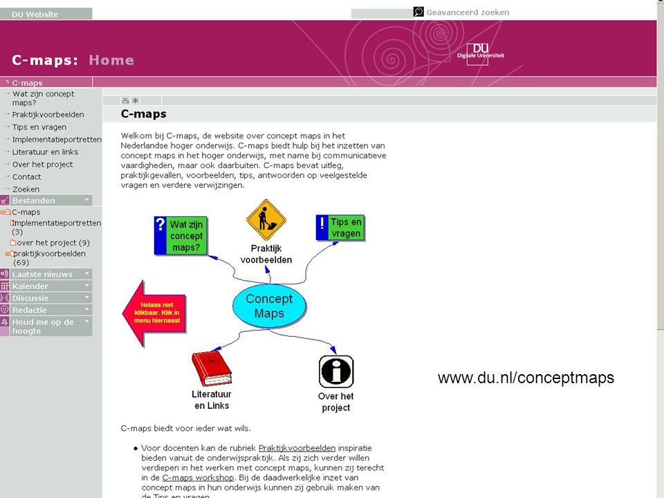 www.du.nl/conceptmaps