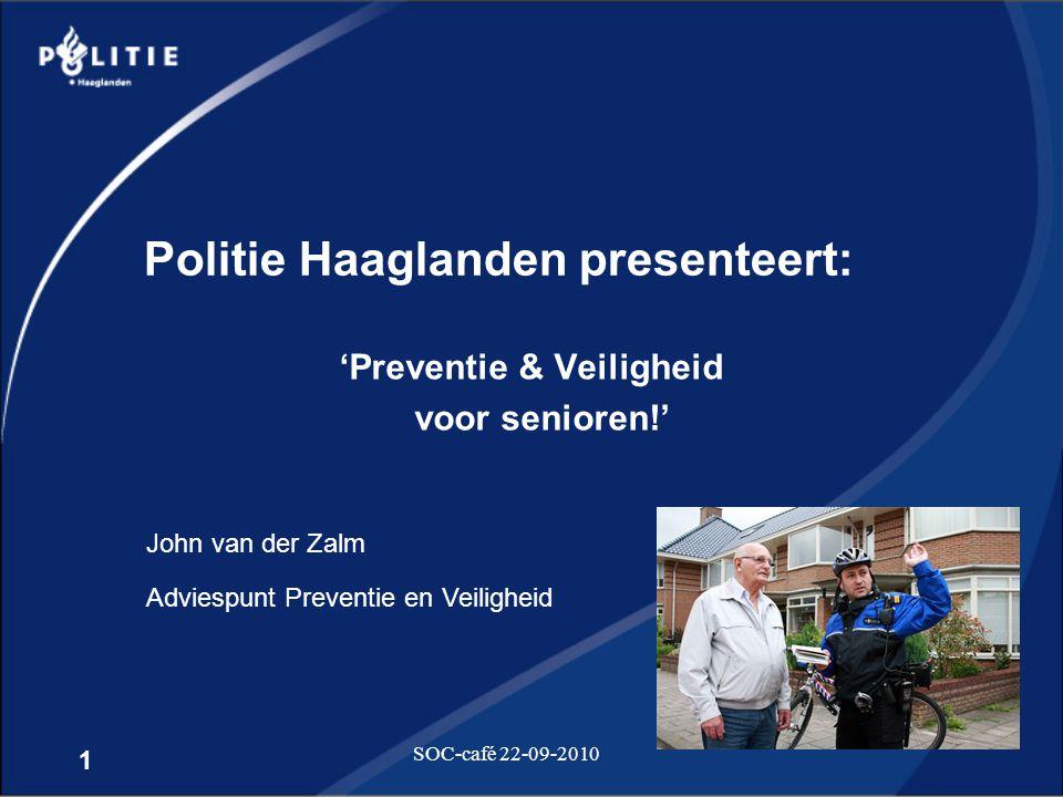 Politie Haaglanden presenteert: