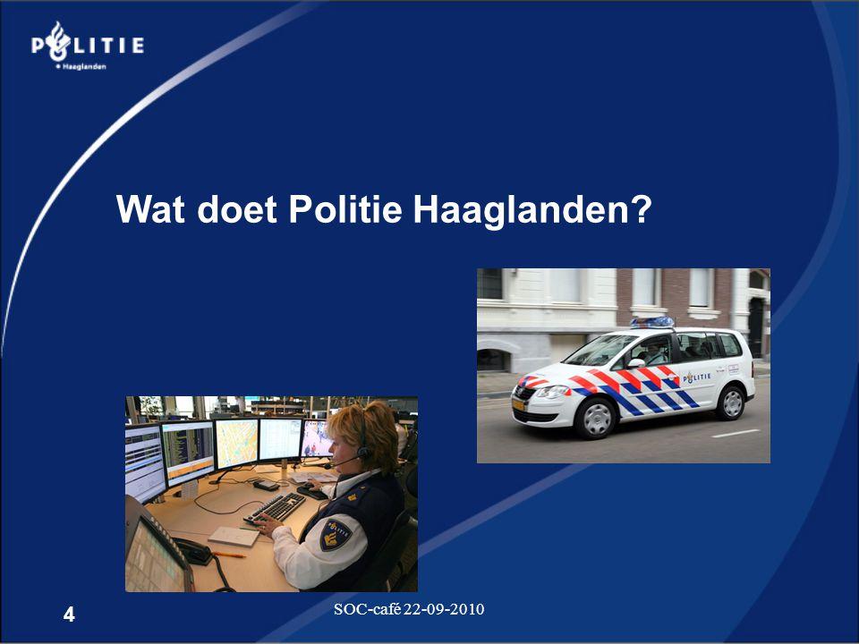 Wat doet Politie Haaglanden