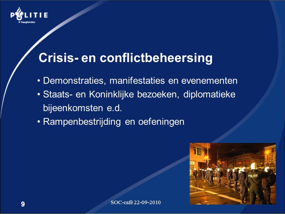 Crisis- en conflictbeheersing