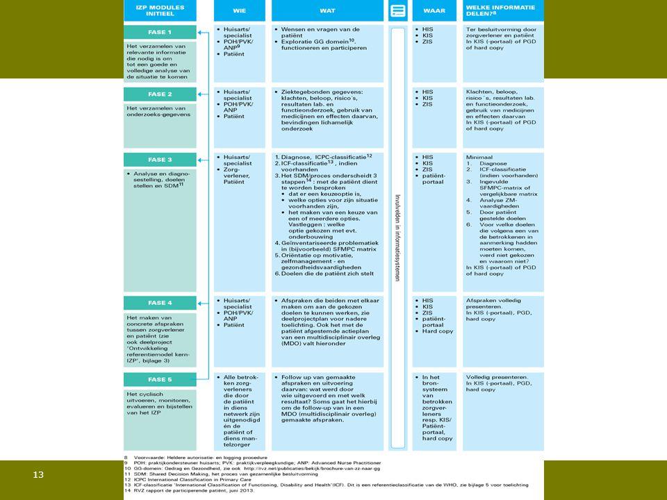 Het Raamwerk Individueel Zorgplan