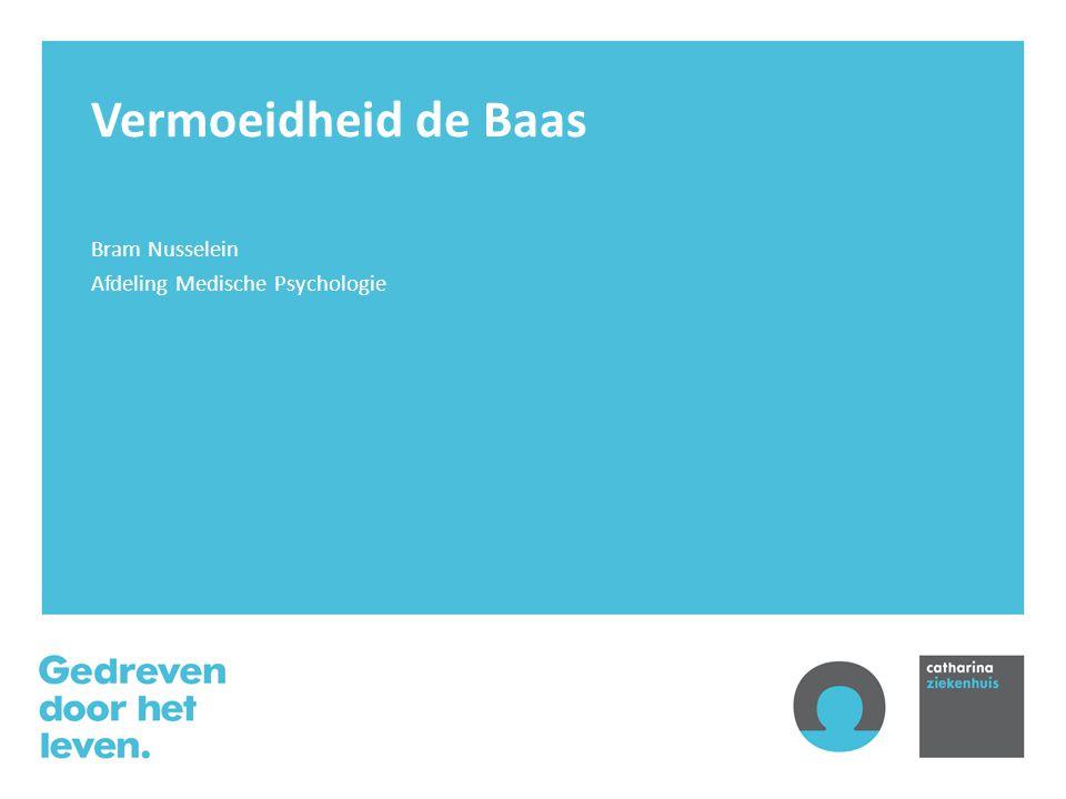 Bram Nusselein Afdeling Medische Psychologie