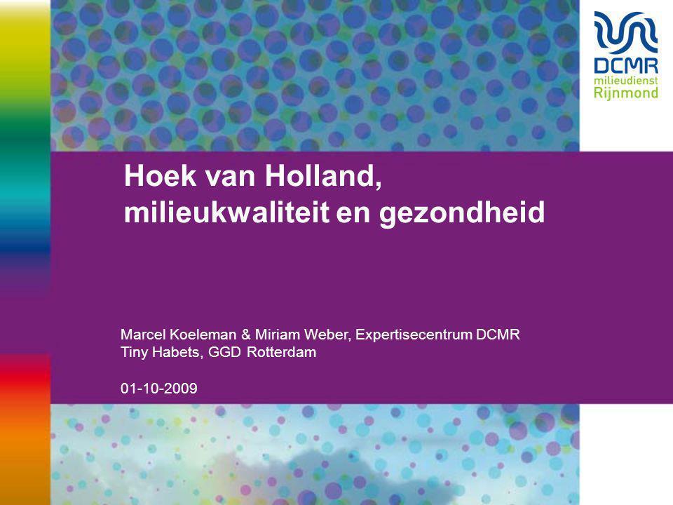 Hoek van Holland, milieukwaliteit en gezondheid