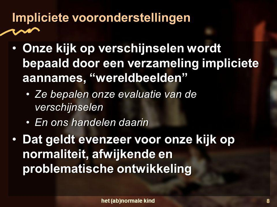 Impliciete vooronderstellingen