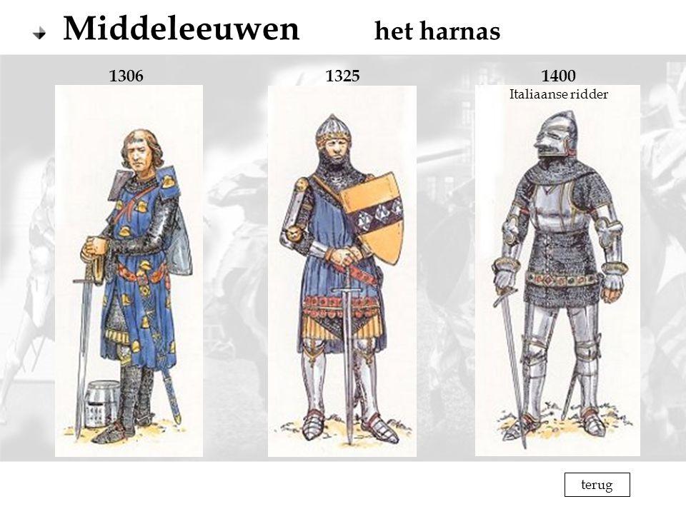 1306 1325 1400 Italiaanse ridder terug
