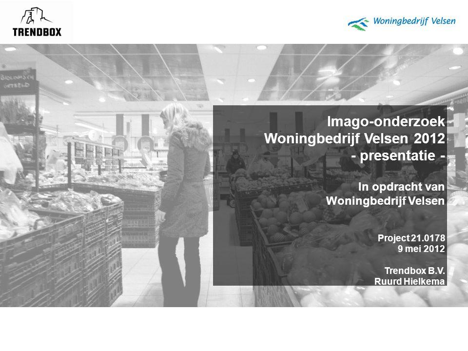 Imago-onderzoek Woningbedrijf Velsen 2012 - presentatie -