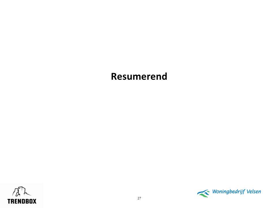 Resumerend © Trendbox BV