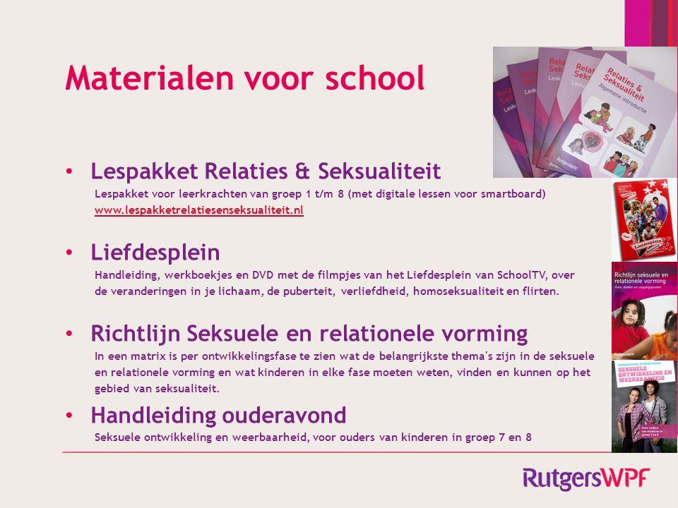 Materialen voor school