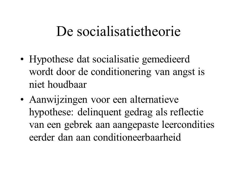 De socialisatietheorie