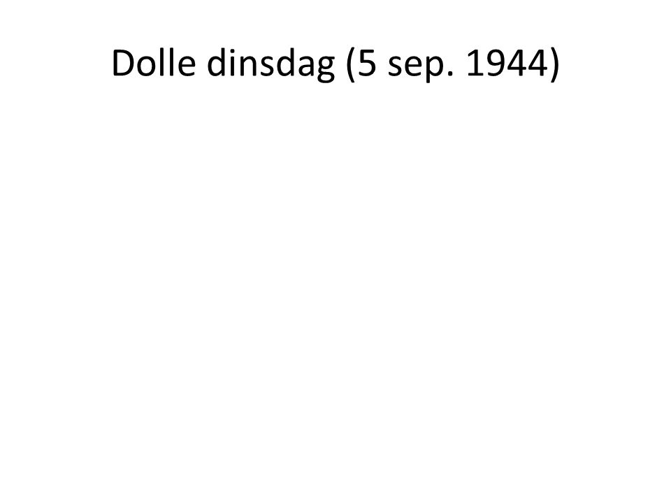 Dolle dinsdag (5 sep. 1944)